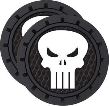 Plasticolor Punisher Logo Cup Holder Coaster Inserts