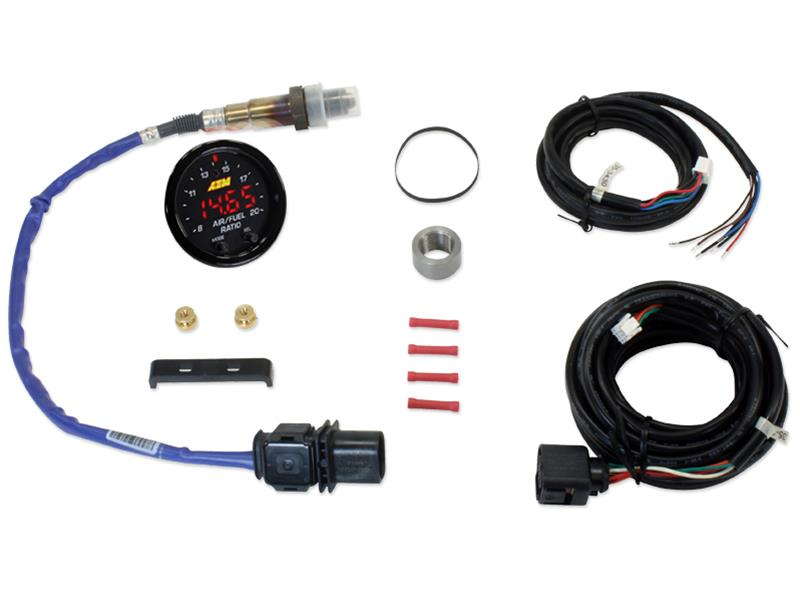 AEM X-Series Wideband UEGO Air/Fuel Sensor Controller Gauge Kit