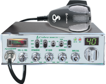 Cobra 29 NW LTD Classic With NightWatch® Display CB Radio