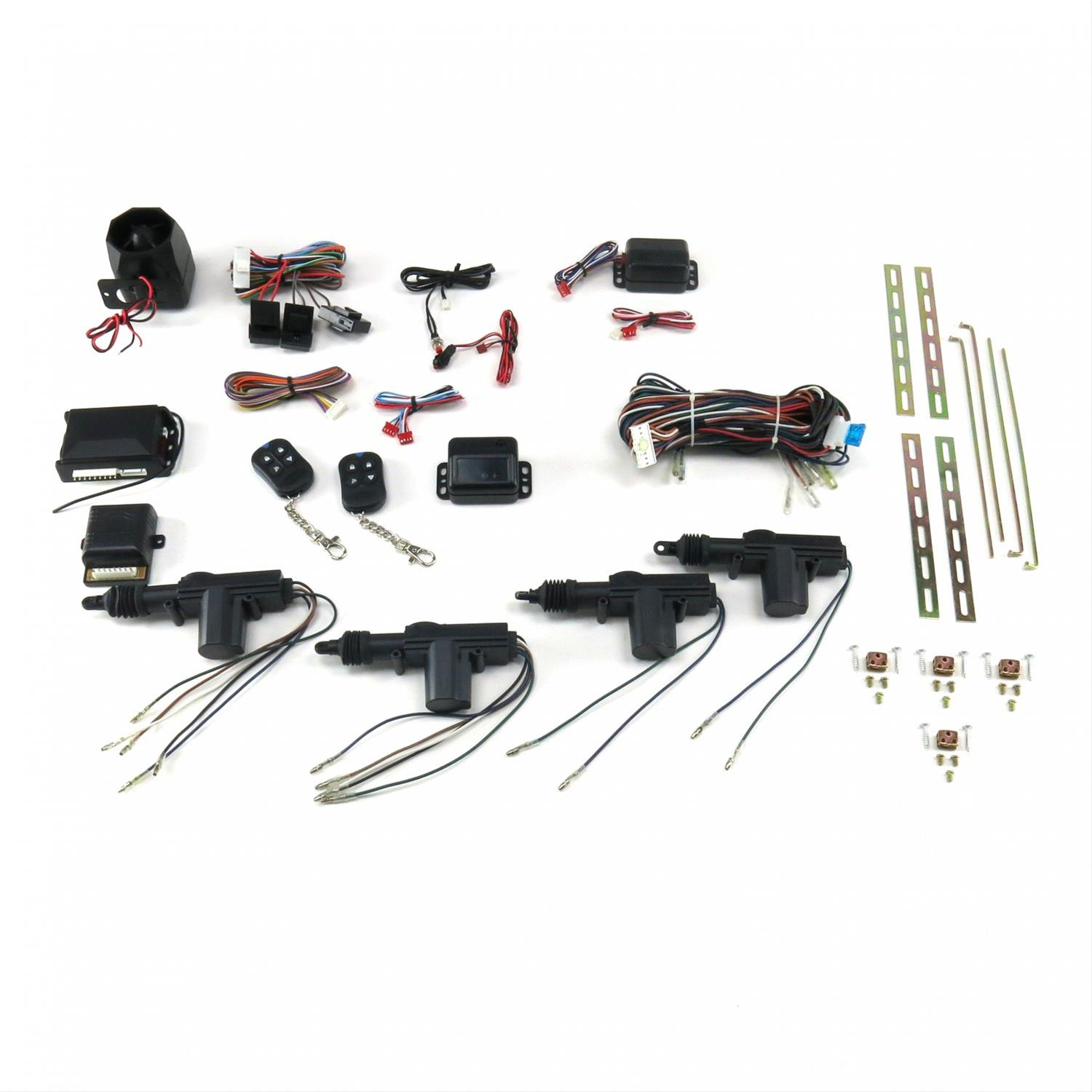 Autoloc 4 Door Power Lock Kit With Alarm