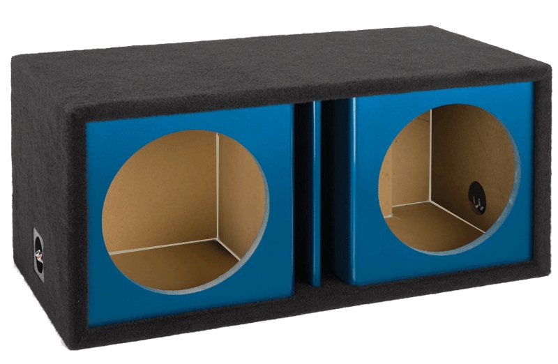 "Dual 12"" Vented Kandy Universal Subwoofer Enclosure"