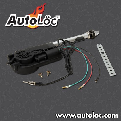 AutoLoc Chrome Power Antenna Kit