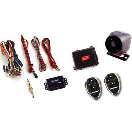 Crimestopper Standard 1-Way Car Alarm Keyless Entry Security