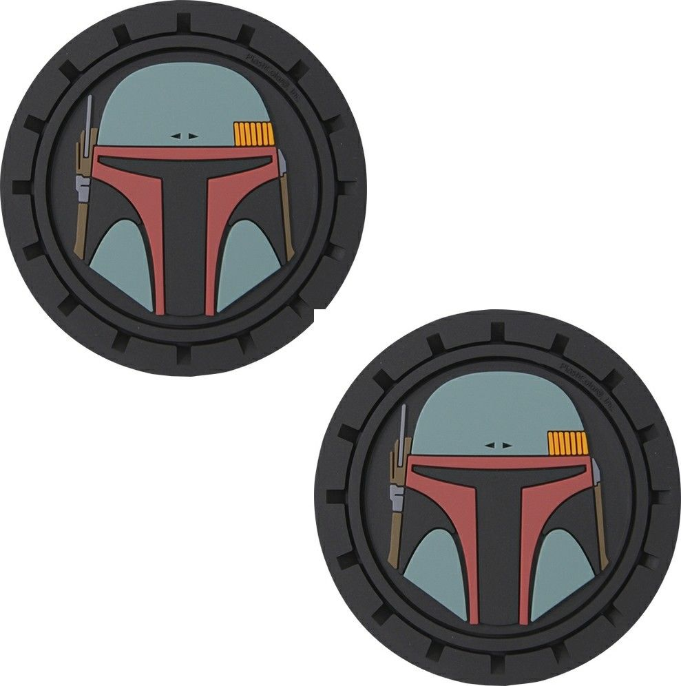 Plasticolor Star Wars Boba Fett Cup Holder Coaster Inserts