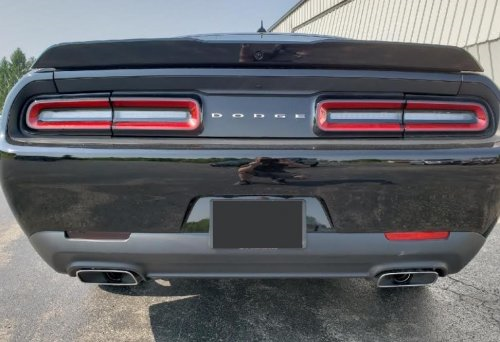 Custom Rear Reflector Decal Overlays 2015-up Dodge Challenger