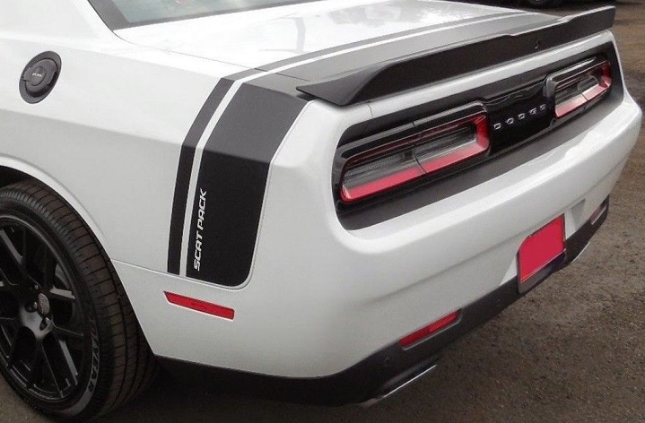 Custom Scat Pack Style Stipe Decals 08-up Dodge Challenger