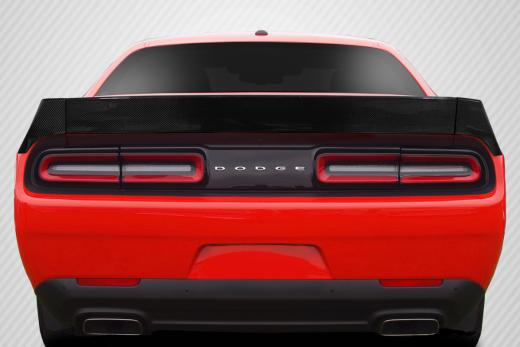 Carbon Fiber DriTech Novara Rear Spoiler 08-up Dodge Challenger