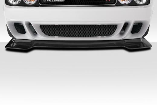 Duraflex 1 Piece Circuit Front Lip 08-up Dodge Challenger
