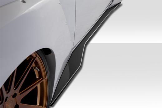 Duraflex Circuit Side Splitters 08-up Dodge Challenger