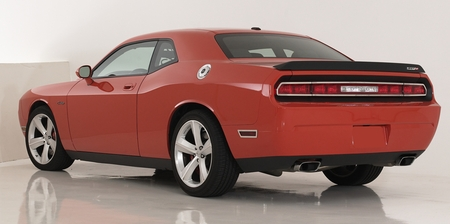Polished Stainless Steel Tail Light Trim 08-14 Dodge Challenger