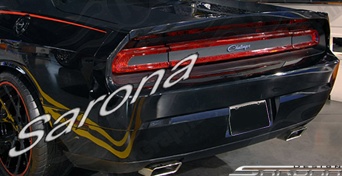 Sarona 3pc Wrap Around Tall Style Spoiler 08-up Dodge Challenger