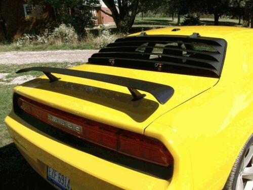 Dales Cuda Shop Aluminum Rear Louvers 08-up Dodge Challenger