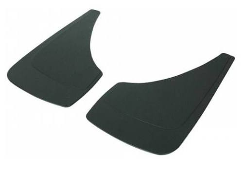 "Highland 2-Pc Universal Medium Mud Flap Set 13"" x 7"""