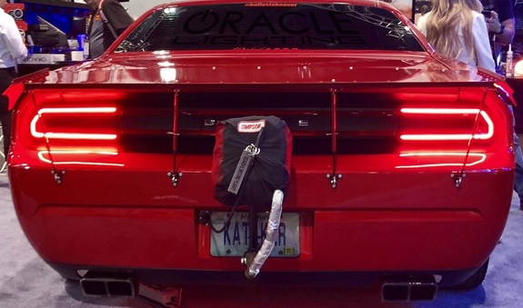 Oracle Afterburner Tail Light Surface Halo Kit 08-14 Challenger