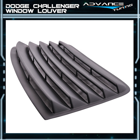 PUR ABS Rear Window Louver Kit 08-up Dodge Challenger