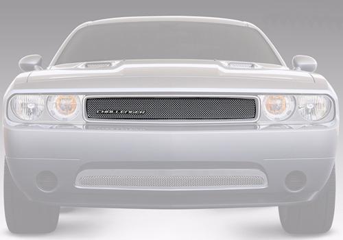 08-14 Dodge Challenger Black Chrome Grille Surround Trim Mopar Factory Oem New