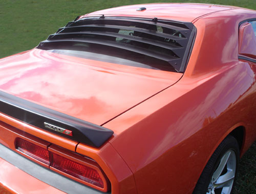 Willpak Aluminum Rear Window Louvers 08-up Dodge Challenger