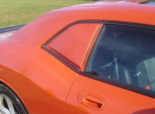 Willpak Side Rear Window Scoops 08-up Dodge Challenger