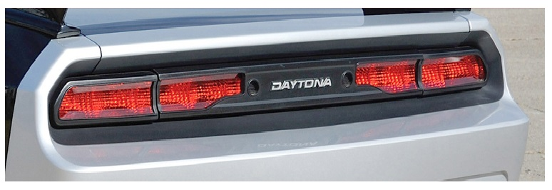 Daytona Tail Light Overlay 08-up Dodge Challenger