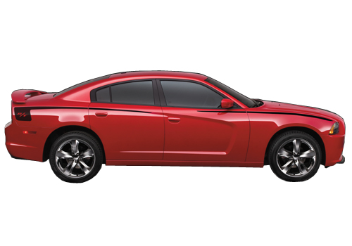 Mopar OEM R/T Hockey Stripes Graphic 11-up Dodge Charger