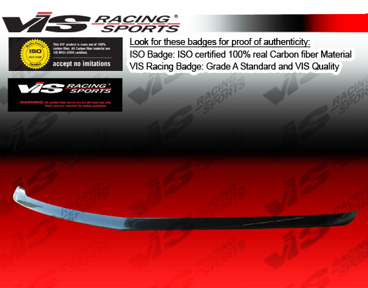 VIS Racing Carbon Fiber Front Bumper Lip 06-10 Dodge Charger