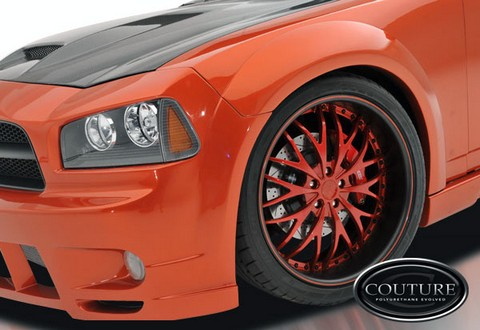 Couture Luxe Wide Body Front Fender Flares 06-10 Dodge Charger