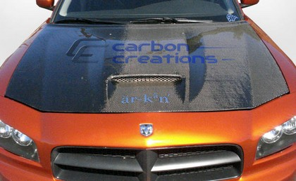 Carbon Fiber SRT-8 Style Hood 06-10 Dodge Charger