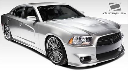 Duraflex SRT Front Bumper Cover 11-14 Dodge Charger