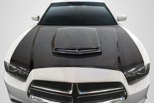Carbon Fiber T/A Style Hood 11-14 Dodge Charger