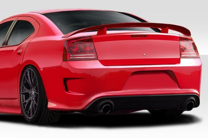 Duraflex Hellcat Rear Bumper Cover 06-10 Dodge Charger