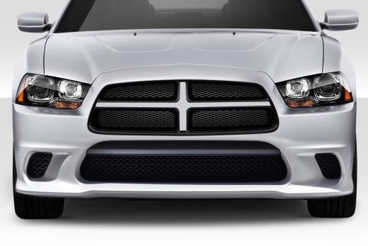 Duraflex Hellcat Front Bumper Cover 11-14 Dodge Charger