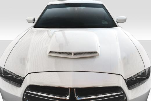 Duraflex TA Style Hood 11-14 Dodge Charger