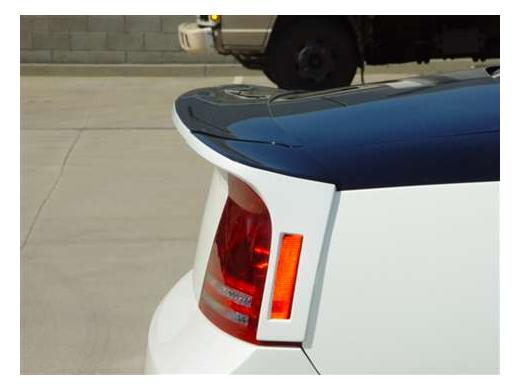 RK Sport 3pc Rear Deck Wing 06-10 Dodge Charger