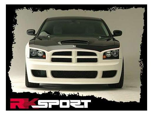 RK Sport Heritage Front Bumper Cover 06-10 Dodge Charger