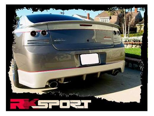 RK Sport Heritage 3pc Rear Deck Wing 06-10 Dodge Charger