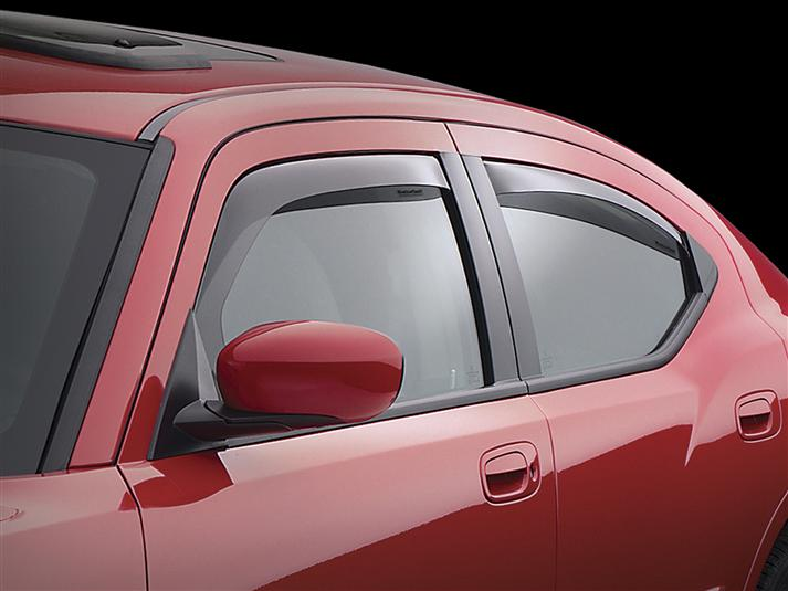 WeatherTech Dk Smoke Side Window Deflectors 06-10 Dodge Charger