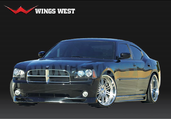 West Wings Front Bumper Lip 06-10 Dodge Charger