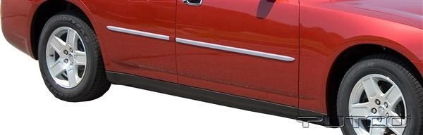 Putco Polished Billet Side Molding 06-10 Charger, 05-08 Magnum