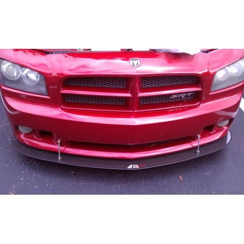 APR Carbon Fiber Front Splitter + Rods 06-10 Dodge Charger All