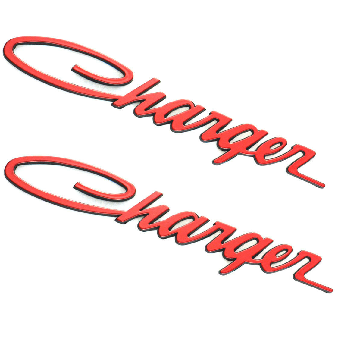 """CHARGER"" Script Body Emblem Badge Dodge Charger"