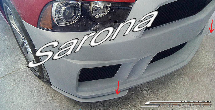 Sarona Custom Style Front Bumper Cover 11-14 Dodge Charger