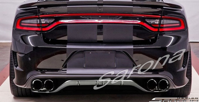 Sarona Hellcat Style Rear Bumper Cover 15-up Dodge Charger
