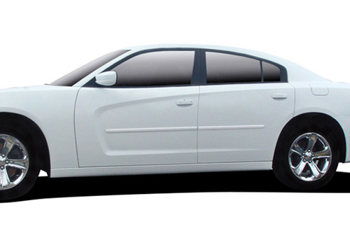 DEI Pre-Painted Body Side Molding 11-14 Dodge Charger
