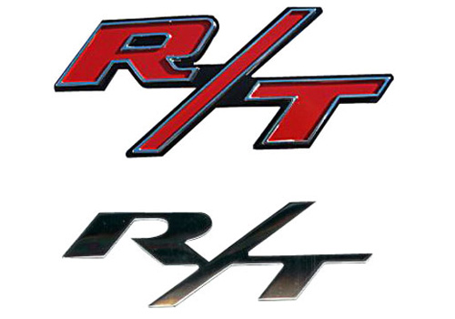 "Mopar OEM Chrome ""R/T"" Body Emblem"