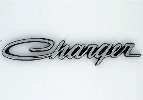 "Mopar OEM Chrome ""Charger"" Fender Emblem"