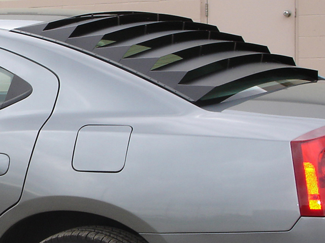 Willpak Aluminum Rear Window Louvers 06-10 Dodge ChaRger