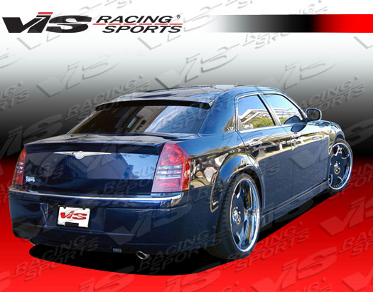 VIS Racing Fiberglass Roof Window Wing 05-10 Chrysler 300-300C