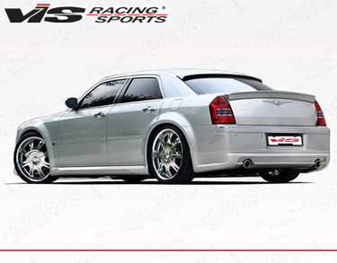 VIS Racing K Speed Rear Lip 05-10 Chrysler 300C