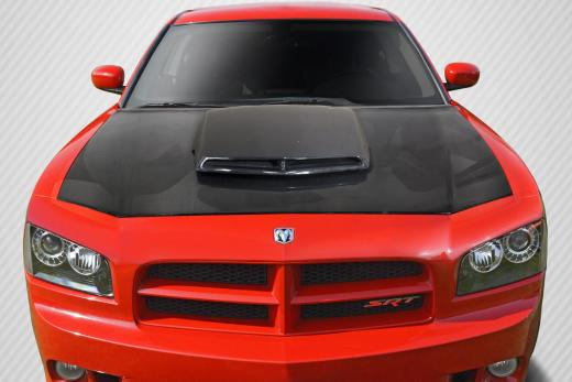 Carbon Fiber T/A Style Hood 06-10 Dodge Charger