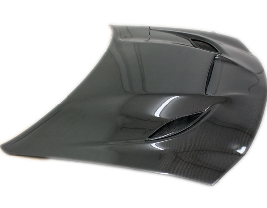 Carbon Fiber Hellcat Style Hood 06-10 Dodge Charger